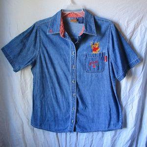 Disney Pooh Jean shirt